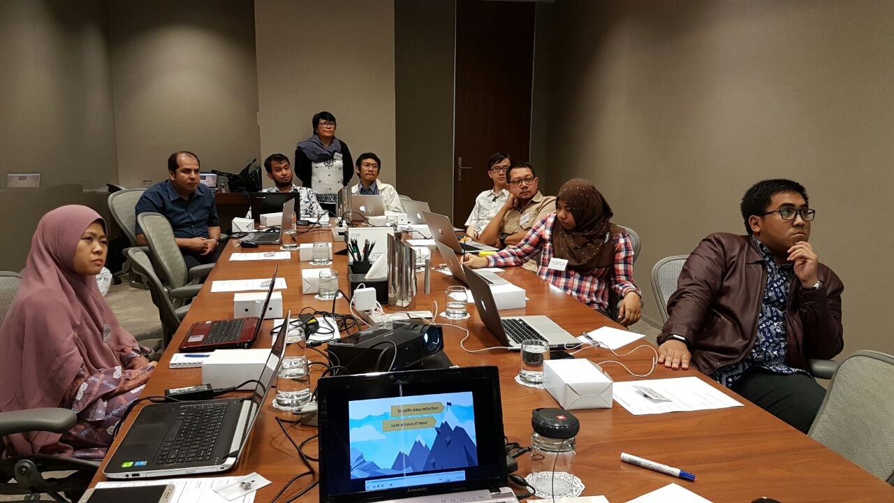 """Digital Data Collection Basic Training-KOBO ToolBox // Batch #1 Pacific Place, Jakarta // December 15, 2016"
