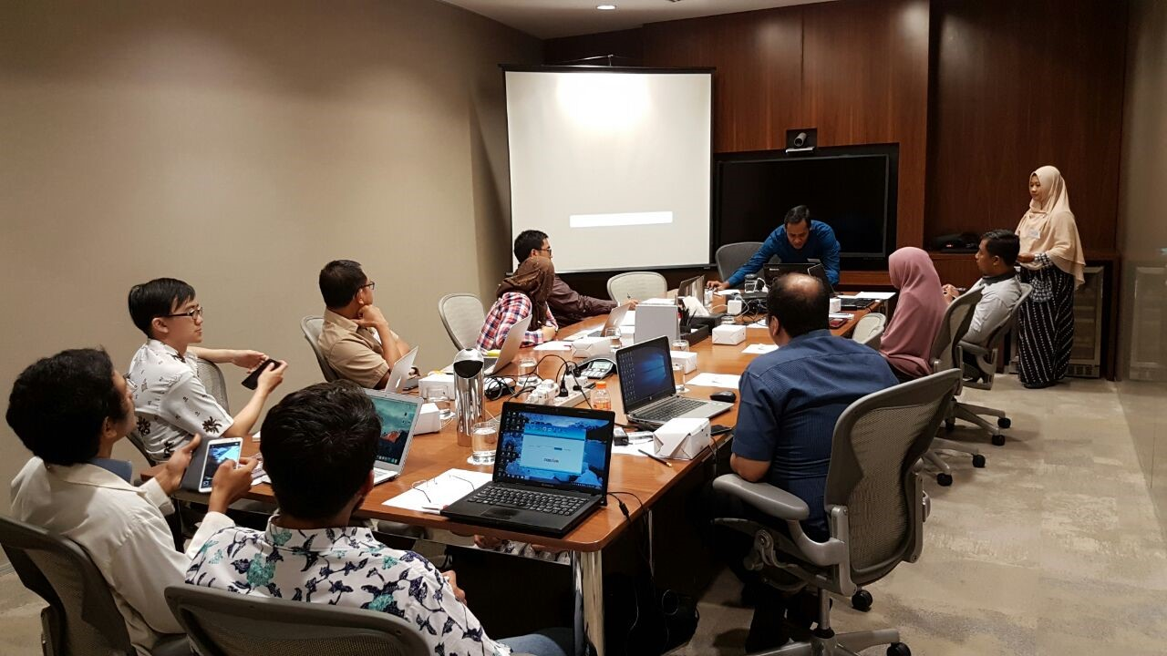 """Digital Data Collection Basic Training-KOBO ToolBox // Batch #1 Pacific Place, Jakarta // December 15, 2016"